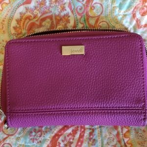 Purple/Pink Jewell Wallet by Thirty-One